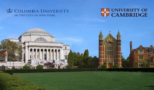 Vista de la Universidad de Columbia y de la Universidad de Cambridge noticiaAMP